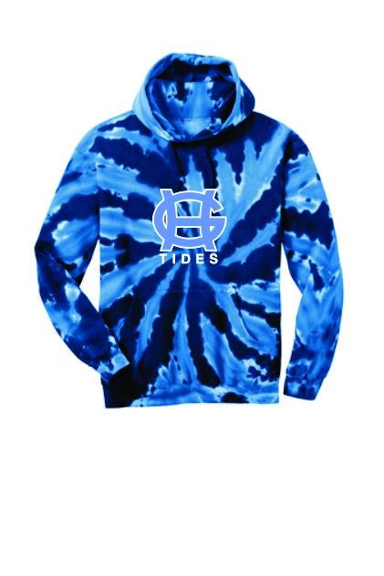 Port & Company Tie Dye Hooded Sweatshirt